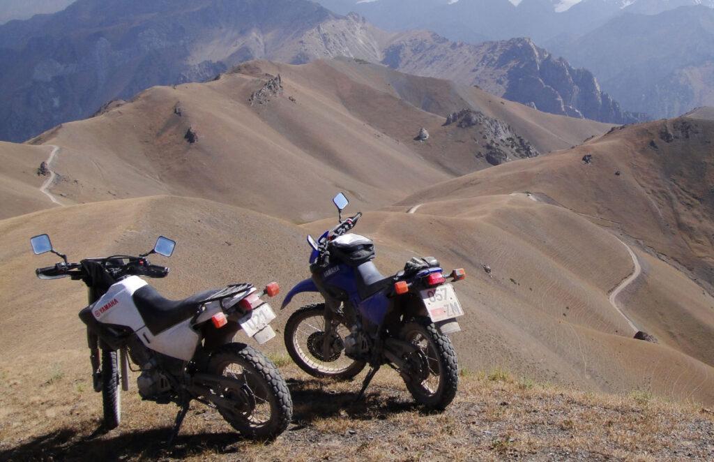 Motorräder in Kirgistan